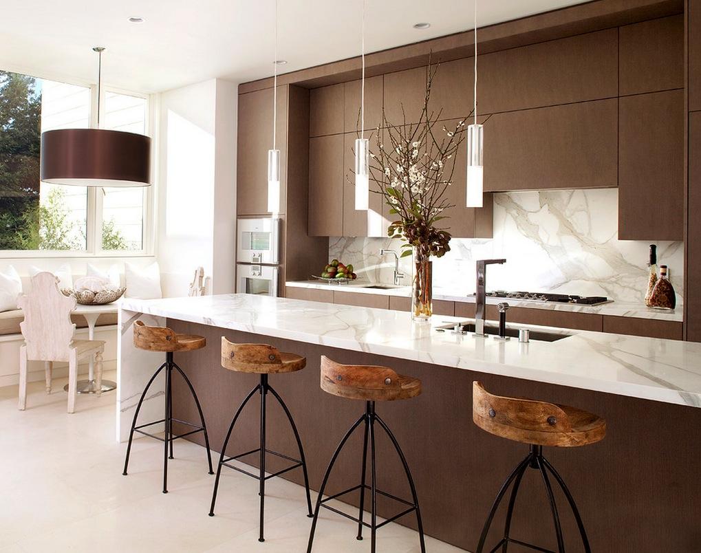 marble rustic modern kitchen | interior design ideas.
