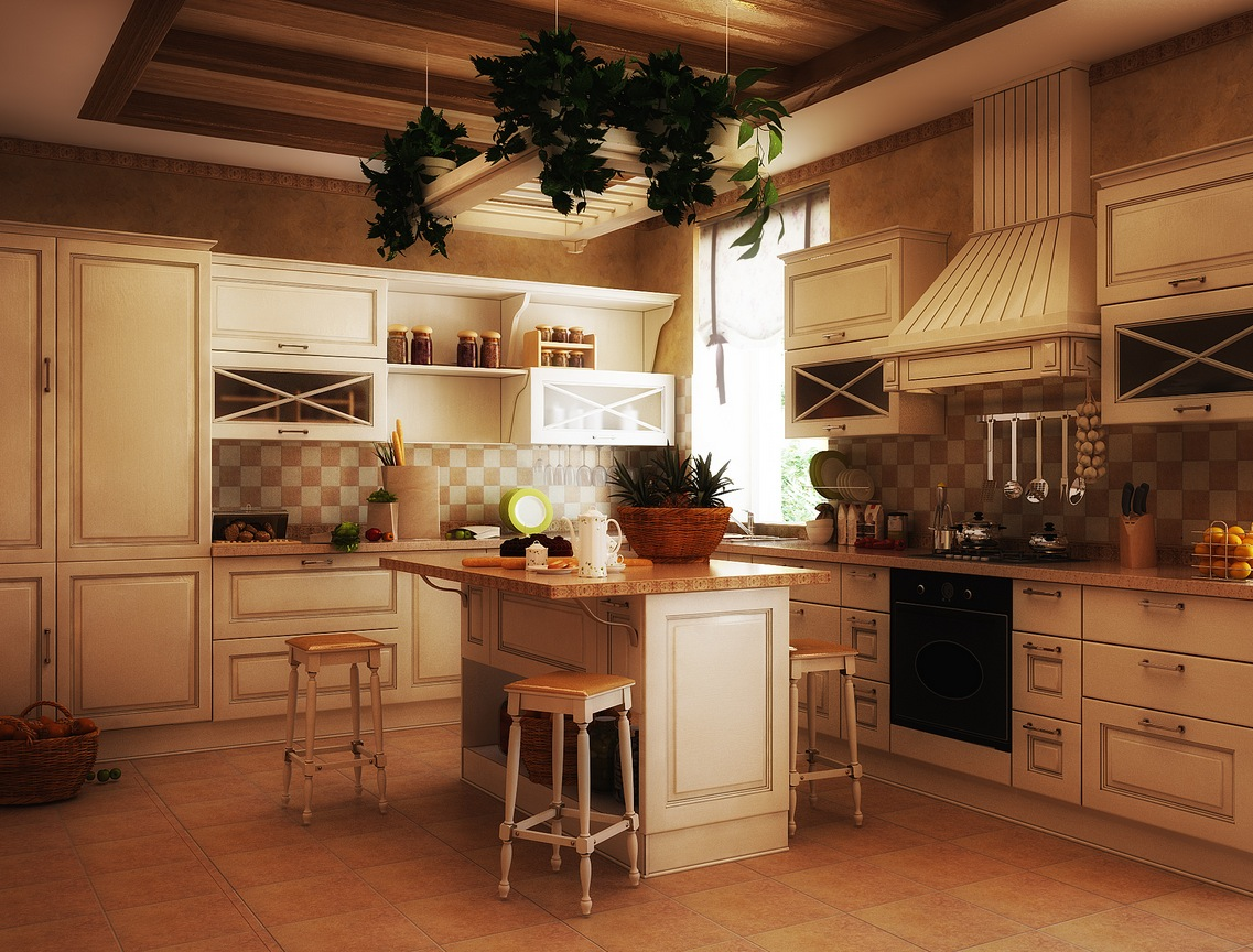 11 Luxurious Traditional Kitchens on Traditional Kitchen Decor  id=84312