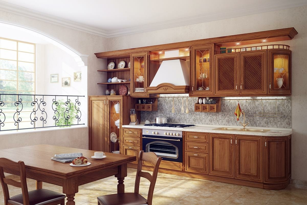 11 Luxurious Traditional Kitchens on Traditional Kitchen Decor  id=70336