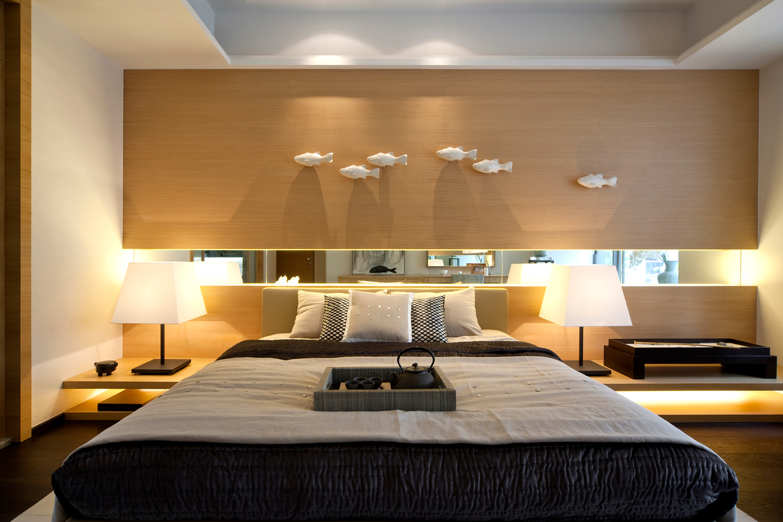High Gloss, High Contrast, High Drama Interiors on Cool Bedroom  id=48792