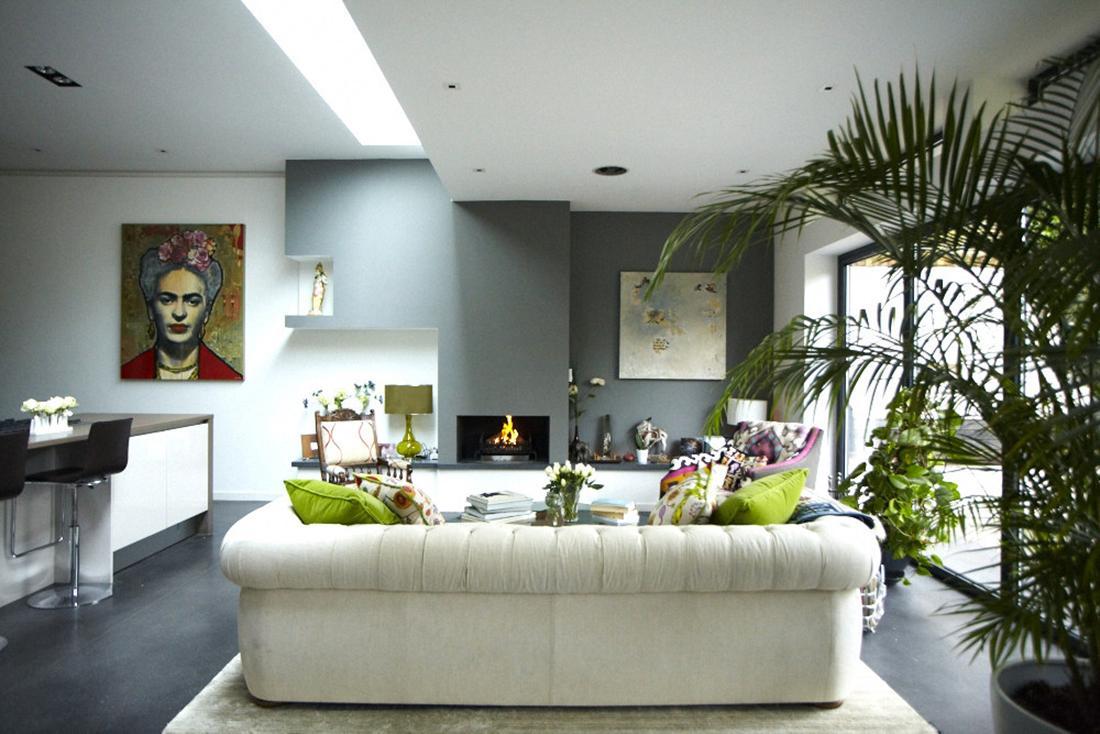 modern victorian home living space 7   Interior Design Ideas.