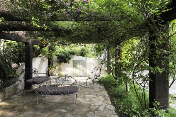 french country outdoor patio furniture Traditional French Country Home