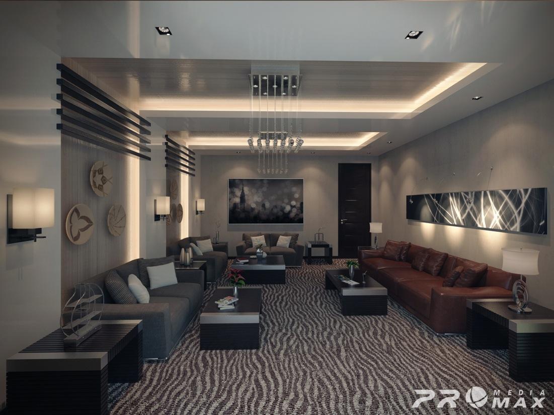 apartment modern 2 living room   Interior Design Ideas.