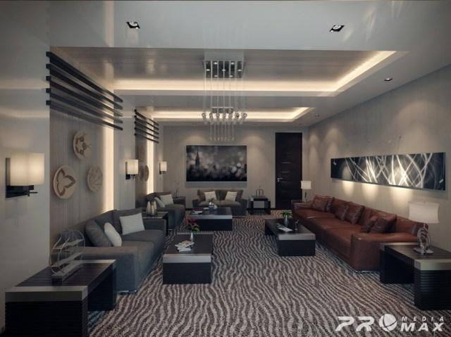 apartment modern 2 living room | Interior Design Ideas.