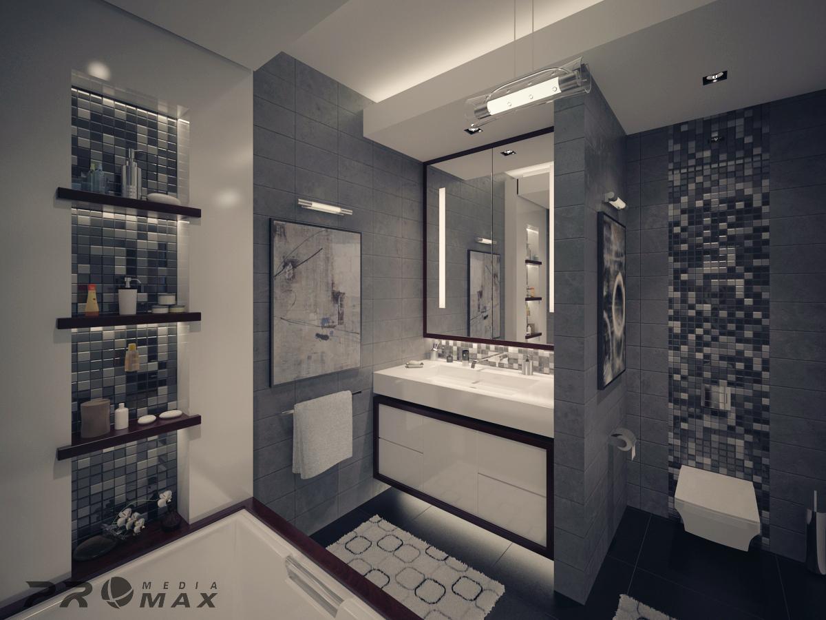 Three Modern Apartments: A Trio of Stunning Spaces on Bathroom Ideas Apartment  id=88438