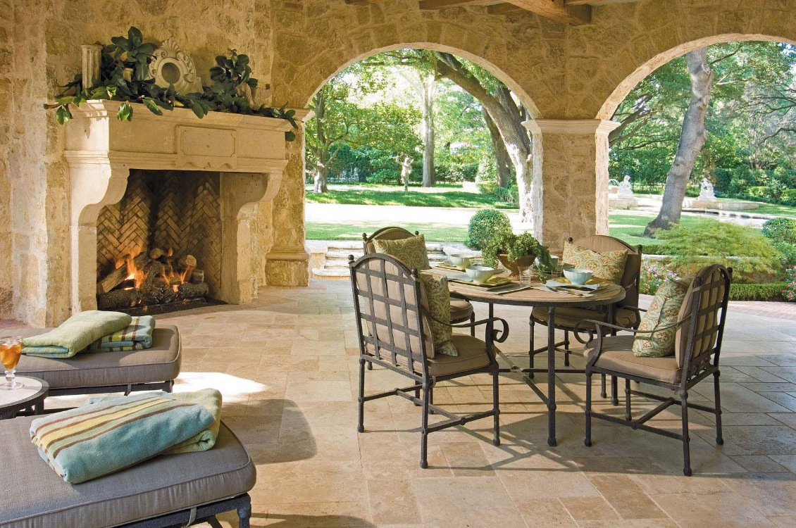 Outdoor Living Spaces by Harold Leidner on Garden Living Space id=30726