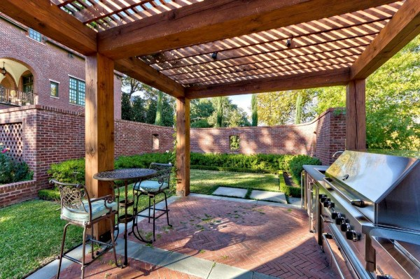 covered outdoor patio living space Outdoor Living Spaces by Harold Leidner