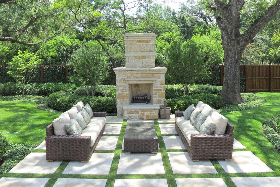 Outdoor Living Spaces by Harold Leidner on Small Backyard Living Spaces  id=71159