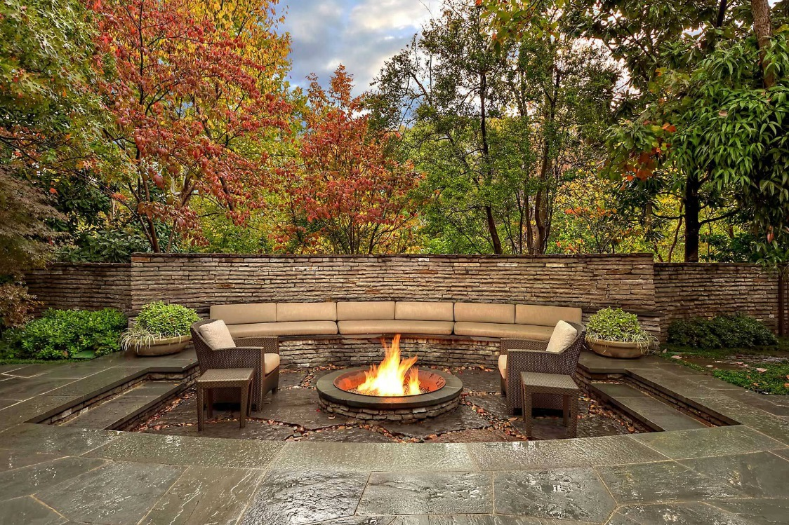 Outdoor Living Spaces by Harold Leidner on Garden Living Space id=85510