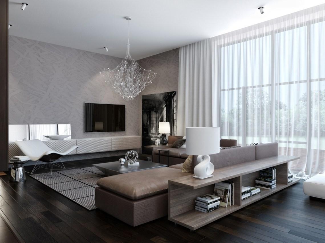 modern neutral living room 1 | Interior Design Ideas.