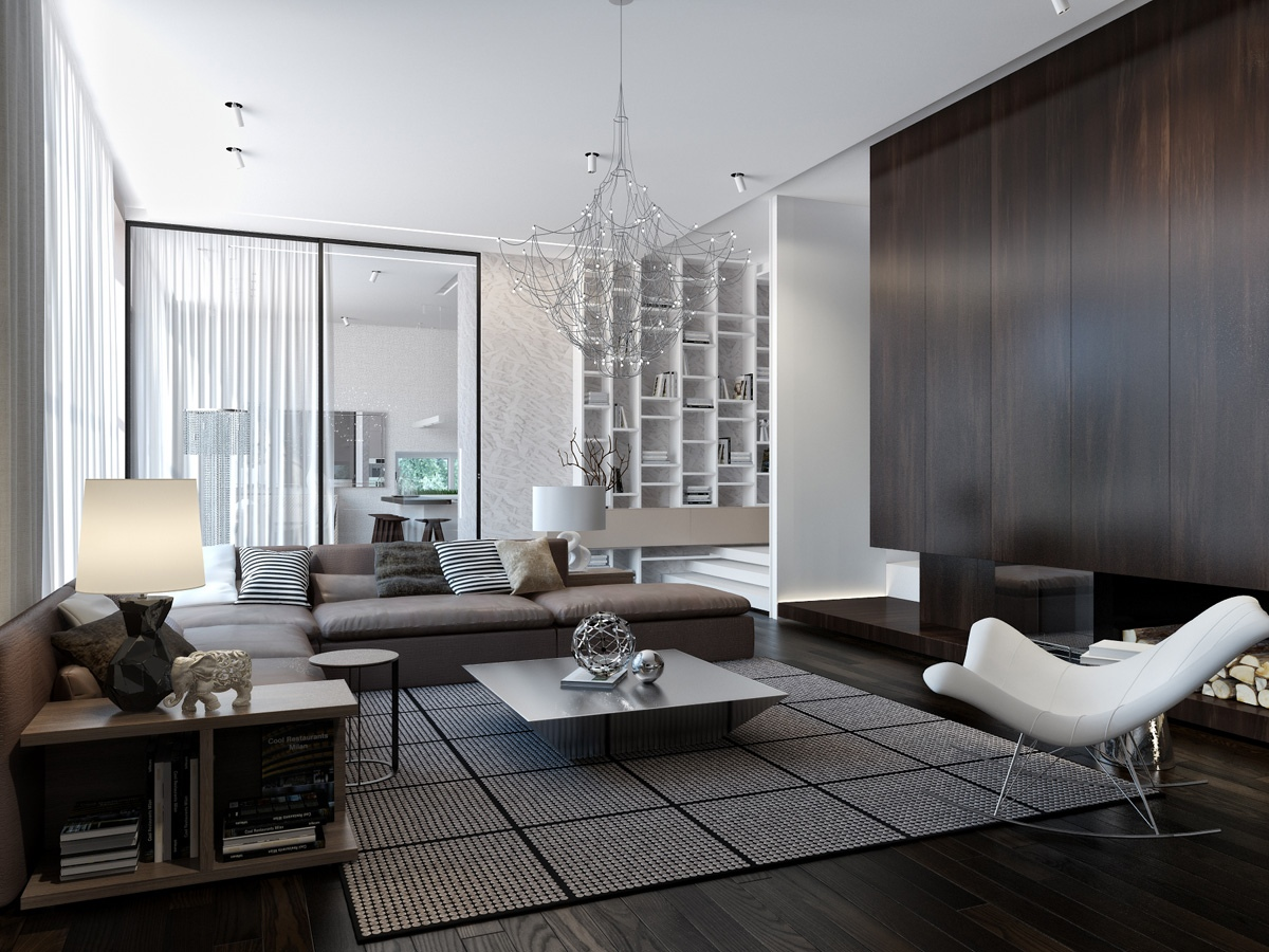 Modern House Interiors With Dynamic Texture and Pattern on Modern House Ideas Interior  id=94006