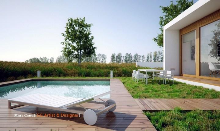 2-pool and garden | interior design ideas.