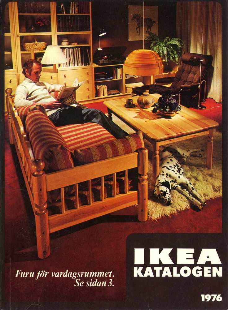 IKEA 1976 Catalog Interior Design Ideas