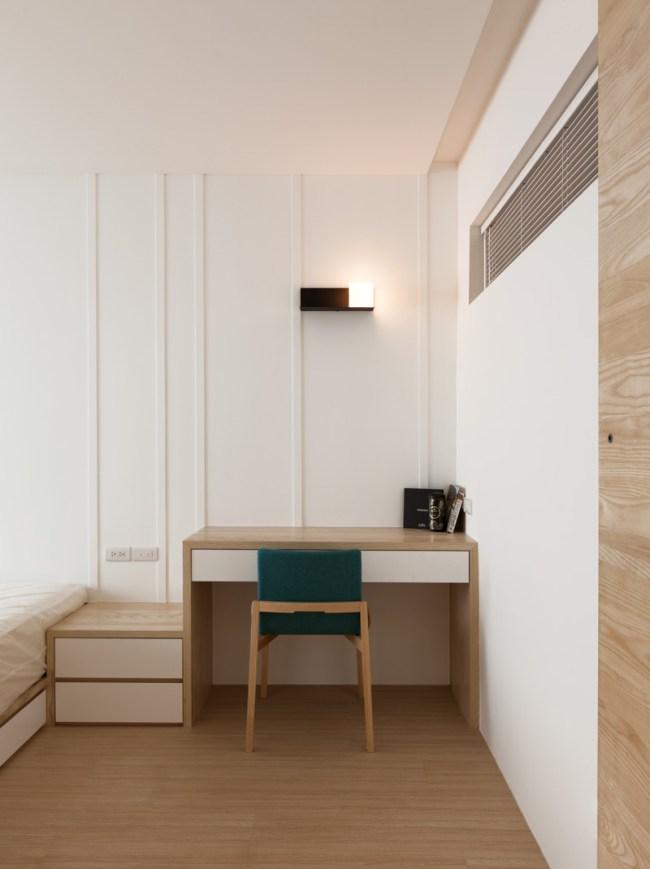 Modern Apartment Design Maximizes Space, Minimizes Distraction