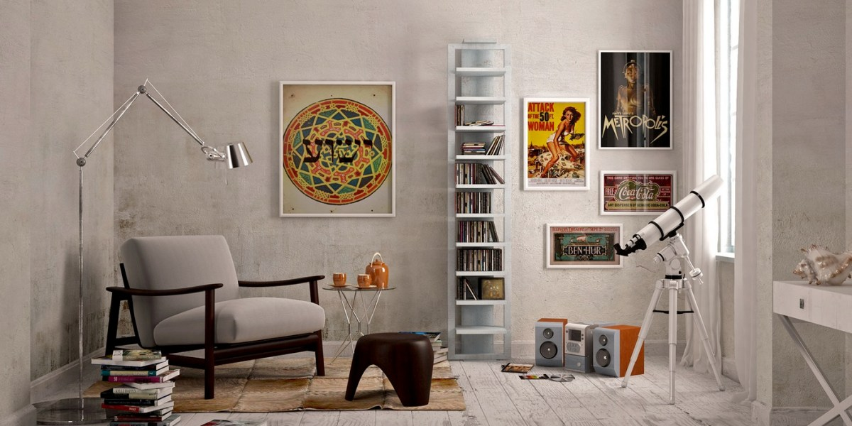 Beautiful Reading Corners Visualized