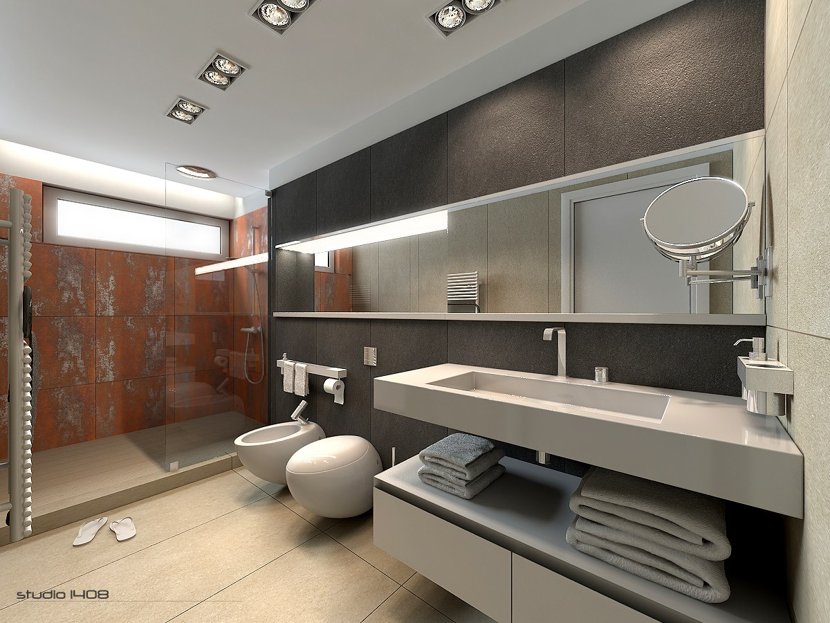 Apartment Living for the Modern Minimalist on Apartment Bathroom  id=88316
