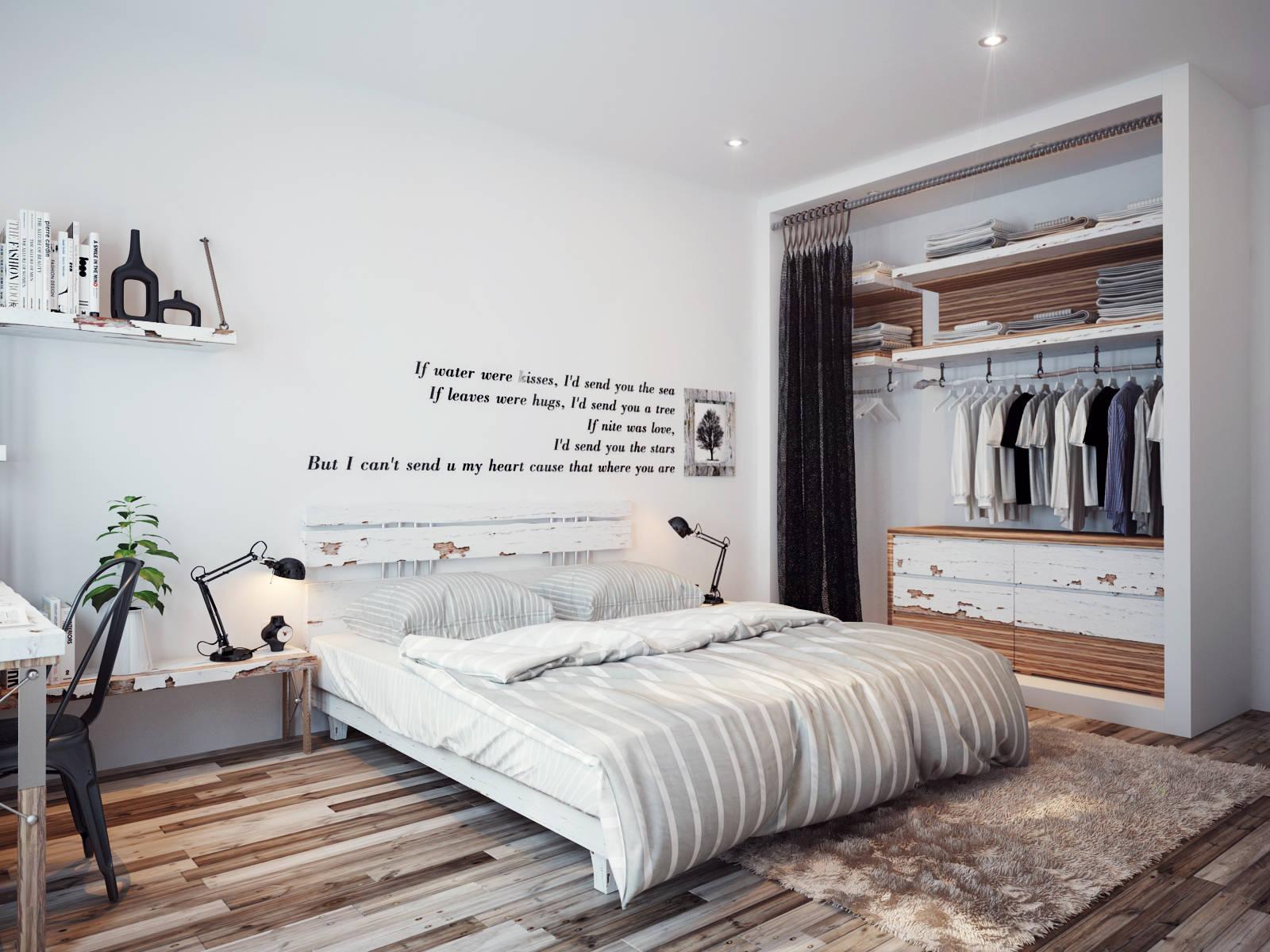bedroom wall quote | Interior Design Ideas. on Bedroom Wall Decor  id=25316