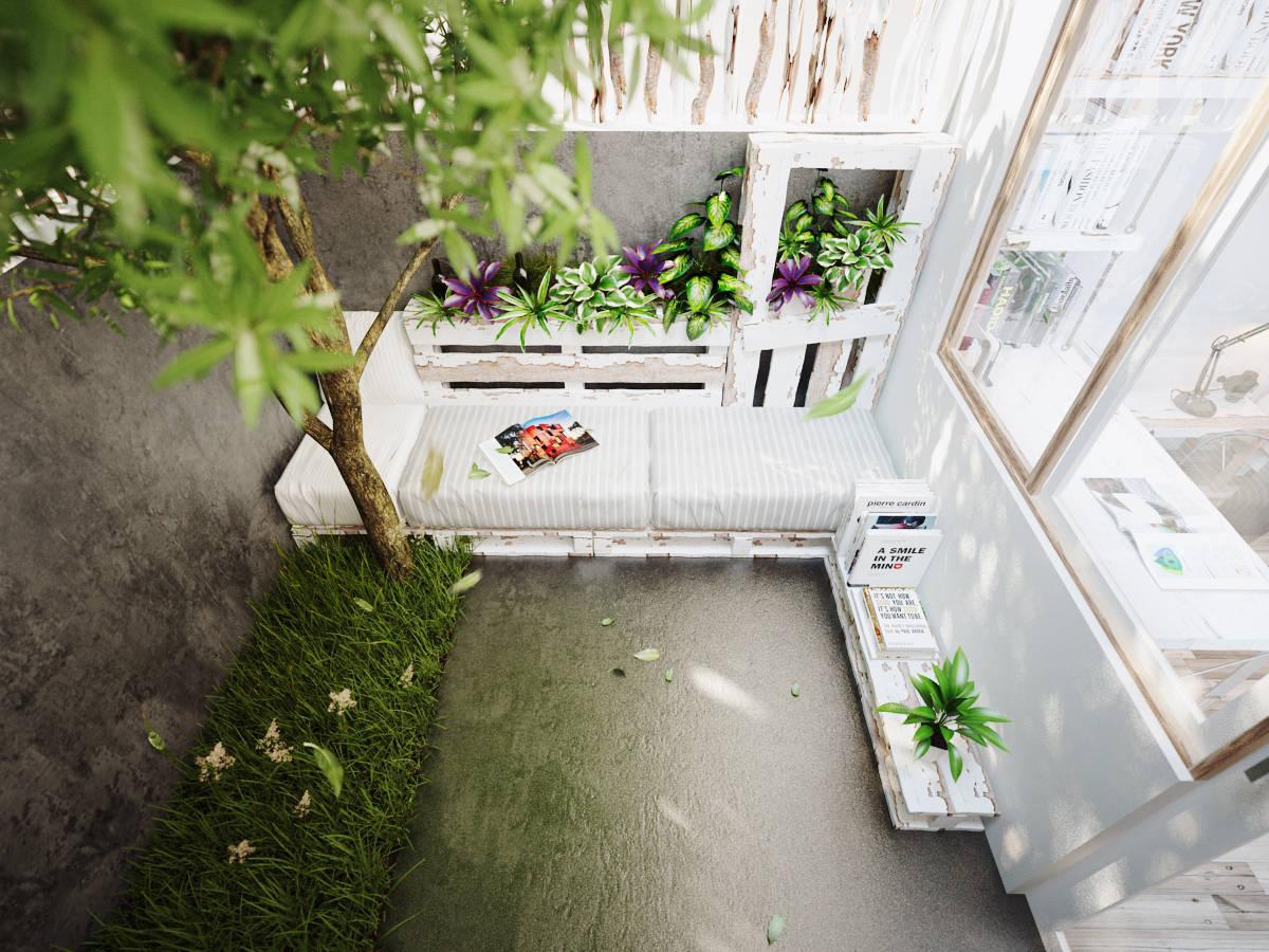 | cozy outdoor reading nookInterior Design Ideas. on Backyard Nook Ideas id=30852