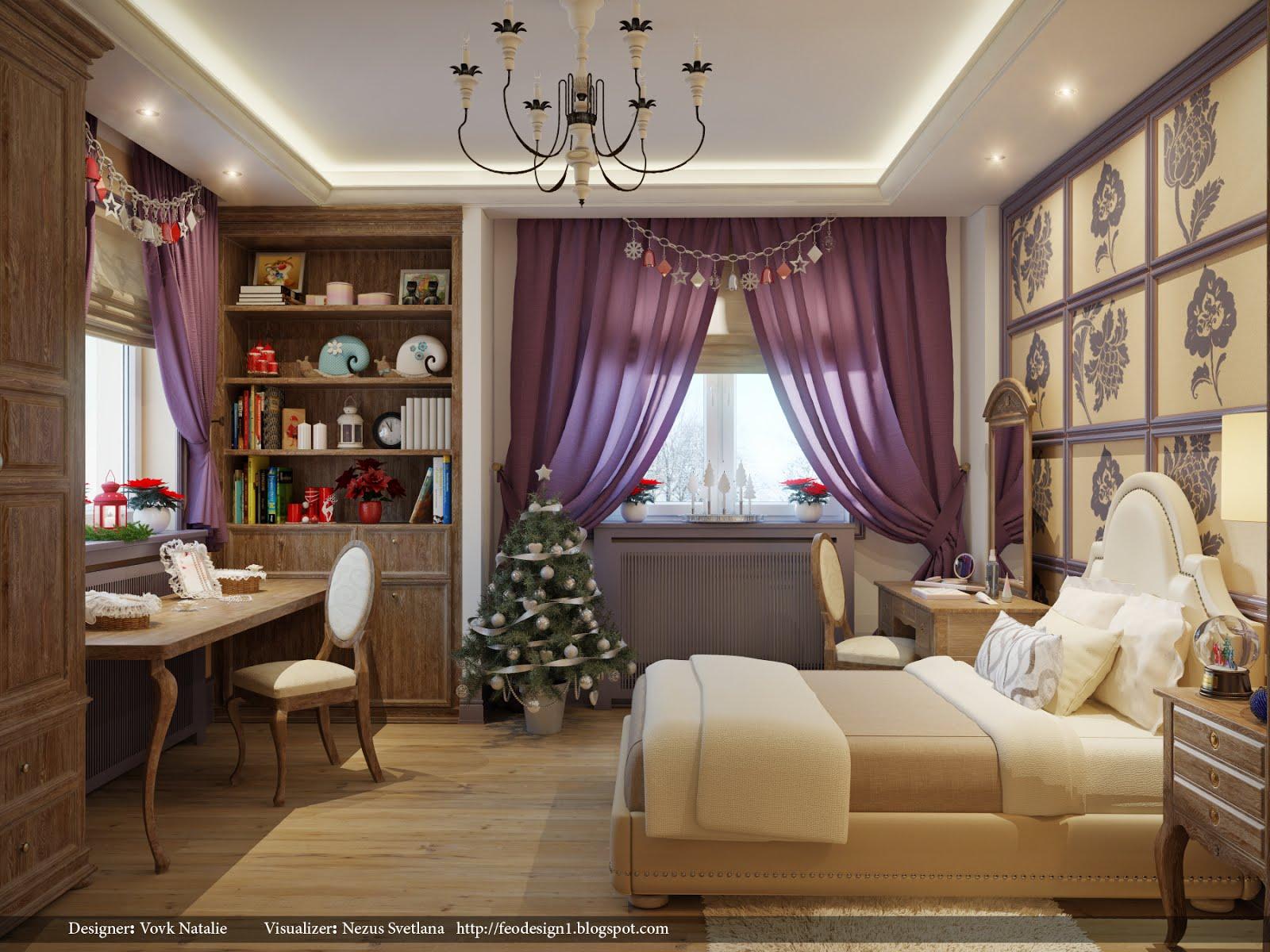 Pretty Contemporary Interiors on Pretty Room Decor For Girl  id=35395