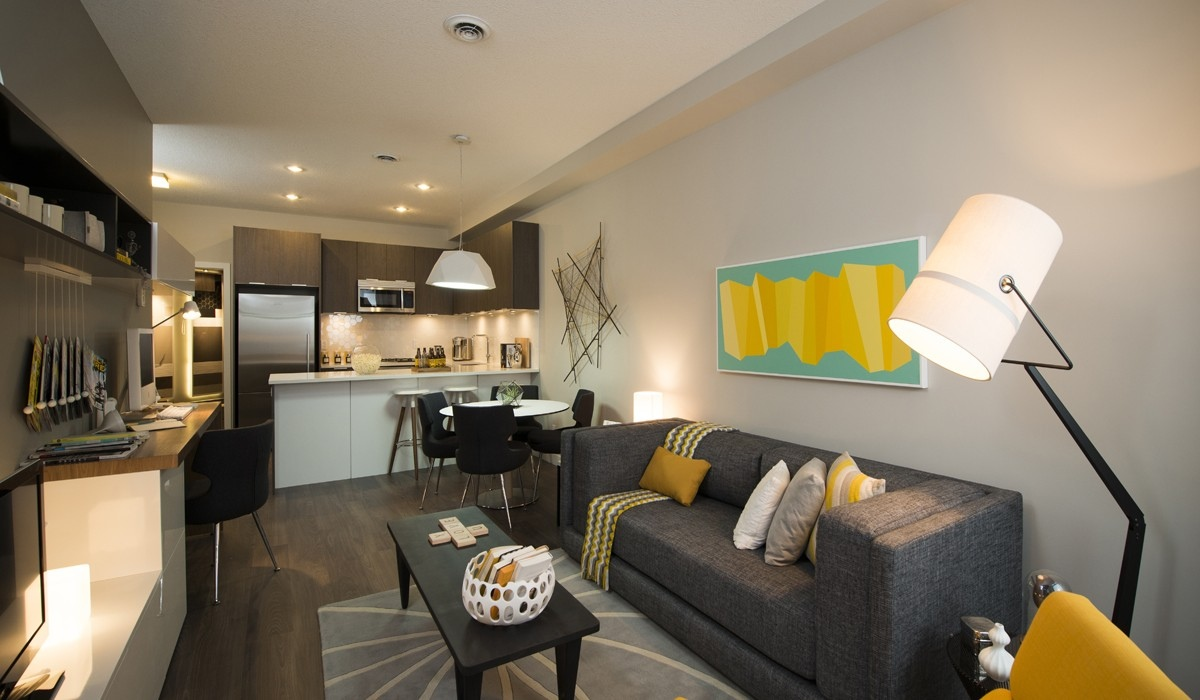Funky Modern Living Area Interior Design Ideas