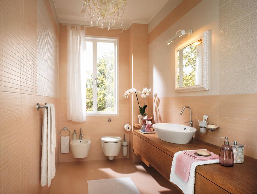 Peach Bathroom Accessories