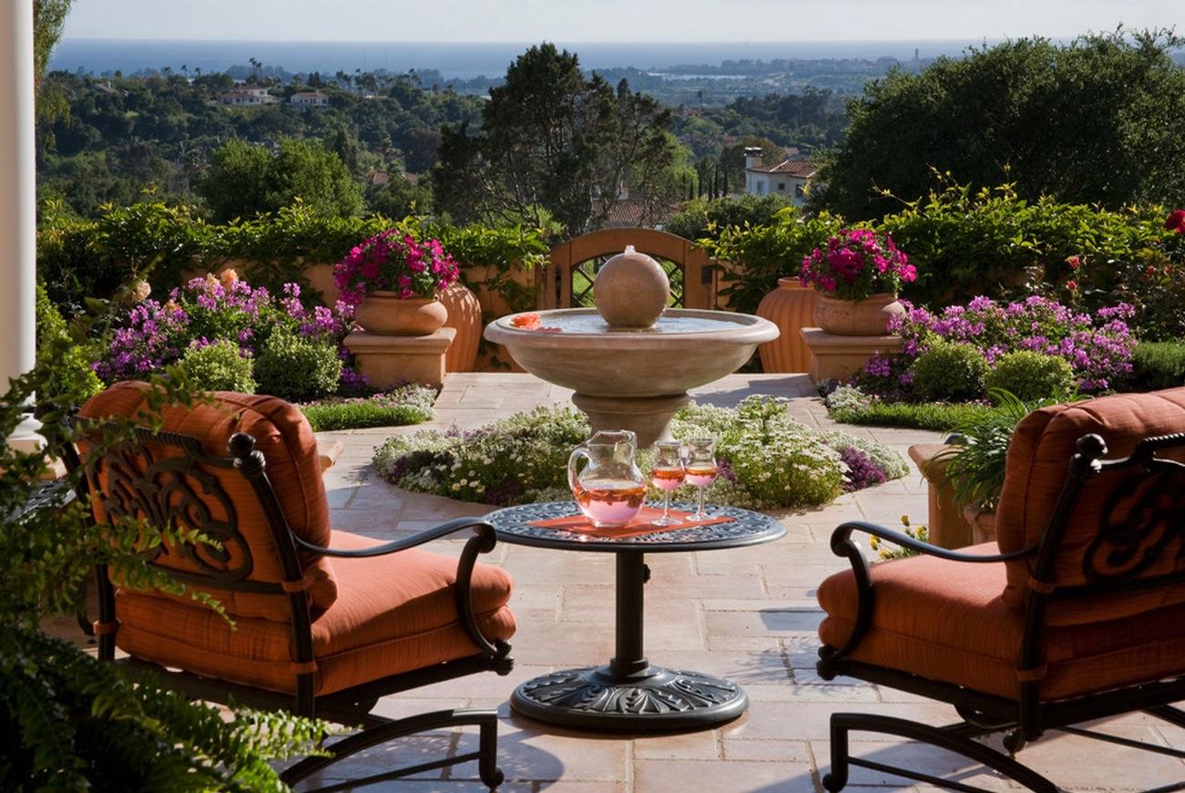 Patio fountain   Interior Design Ideas. on Home Garden Fountain Design id=22637