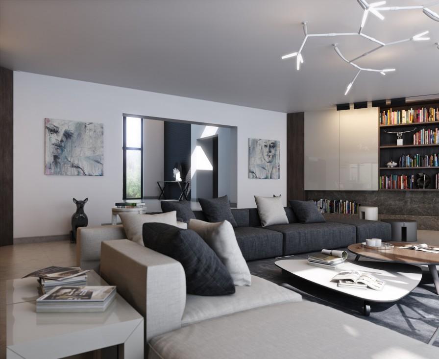Calming Modern Interiors on Interior:ybeqvfpgwcq= Modern House  id=96702