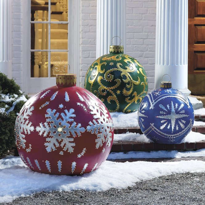 Diffe Outdoor Christmas Decorations Ideas Chinese Furniture Design