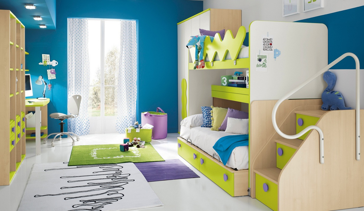 Modern Kid's Bedroom Design Ideas on Model Bedroom Ideas  id=71720