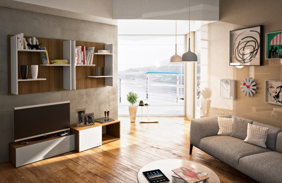 Modern Living Room Wall Units With Storage Inspiration on Living Room Wall Units id=73795