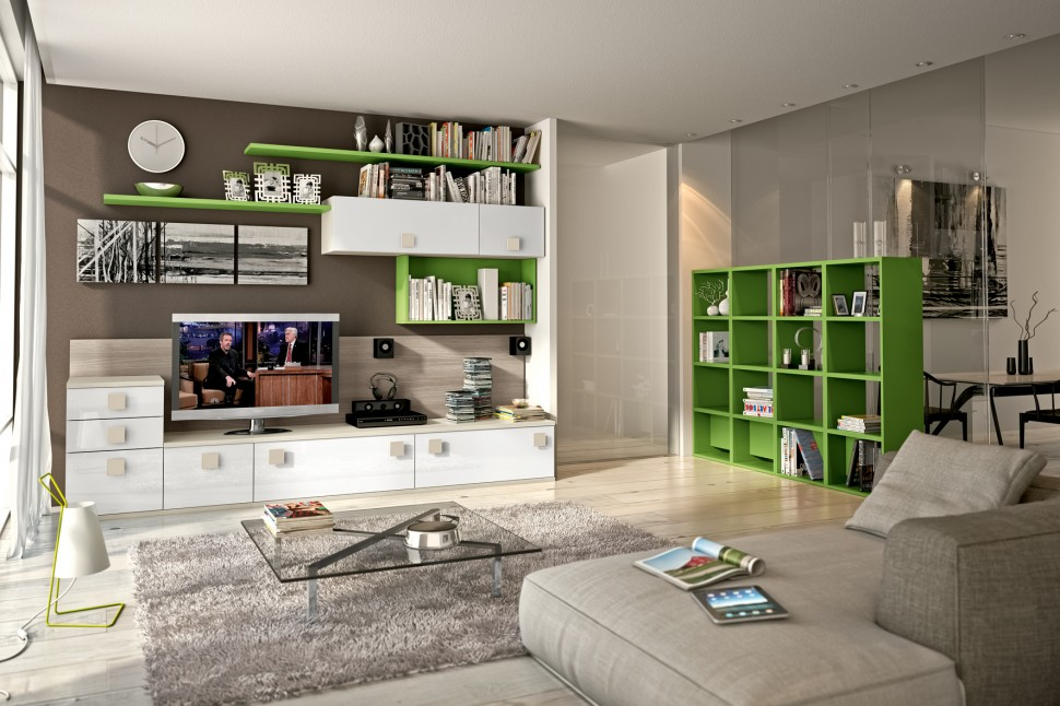 Modern Living Room Wall Units With Storage Inspiration on Living Room Wall Units id=41108