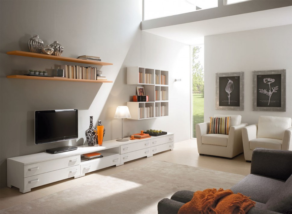 Modern Living Room Wall Units With Storage Inspiration on Living Room Wall Units id=87211