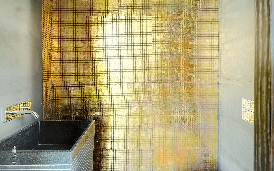 Gold Mosaic Bathroom Accessories