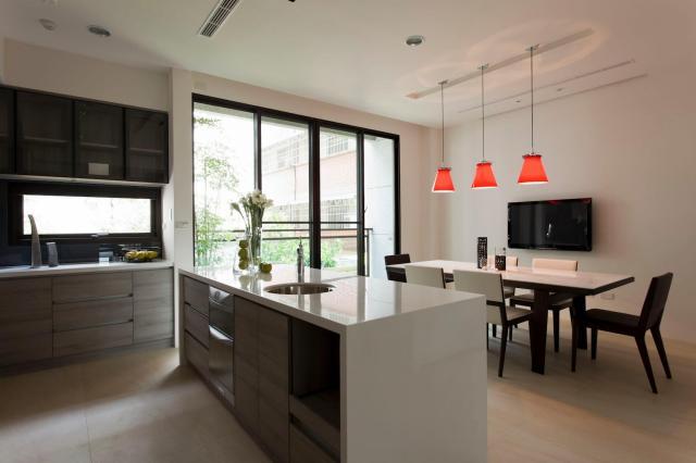 Modern kitchen diner | Interior Design Ideas.