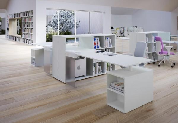 2 Contemporary office desks