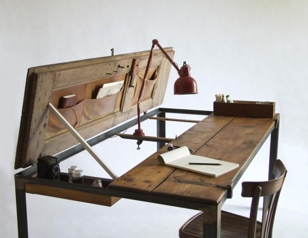 21 Repurposed door desk