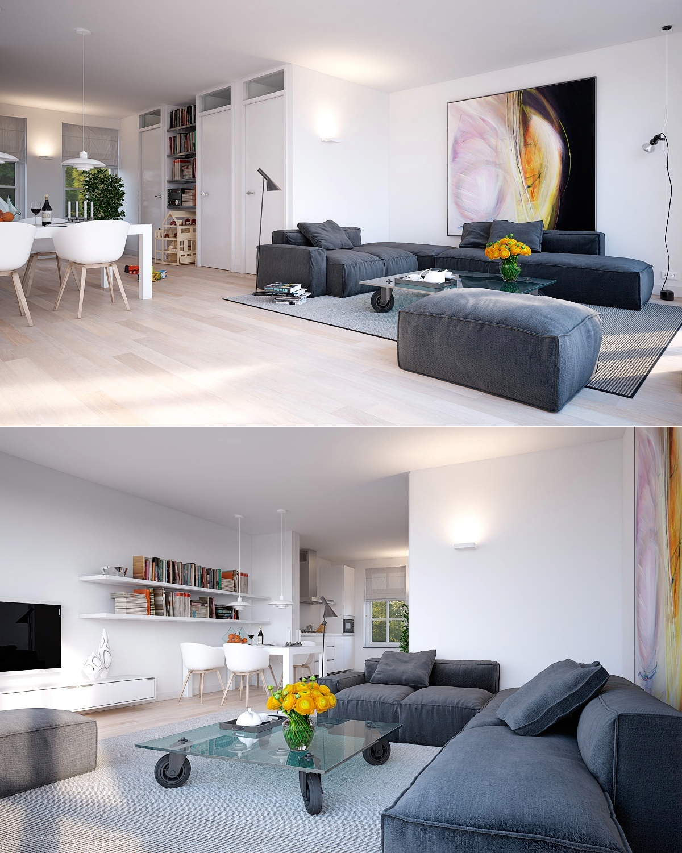 Minimalist living room | Interior Design Ideas. on Minimalist Living Room Design  id=77508