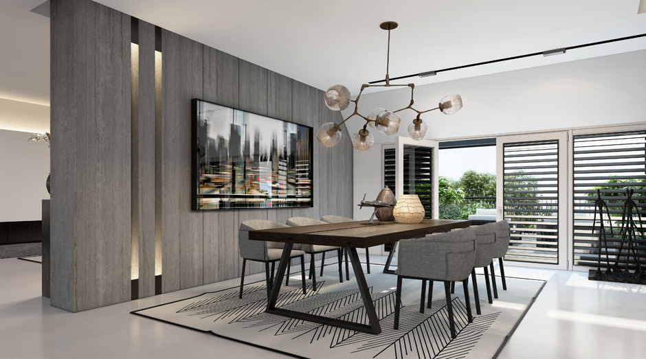 Dusseldorf Modern Dining Room   Interior Design Ideas  Like Architecture   Interior Design  Follow Us