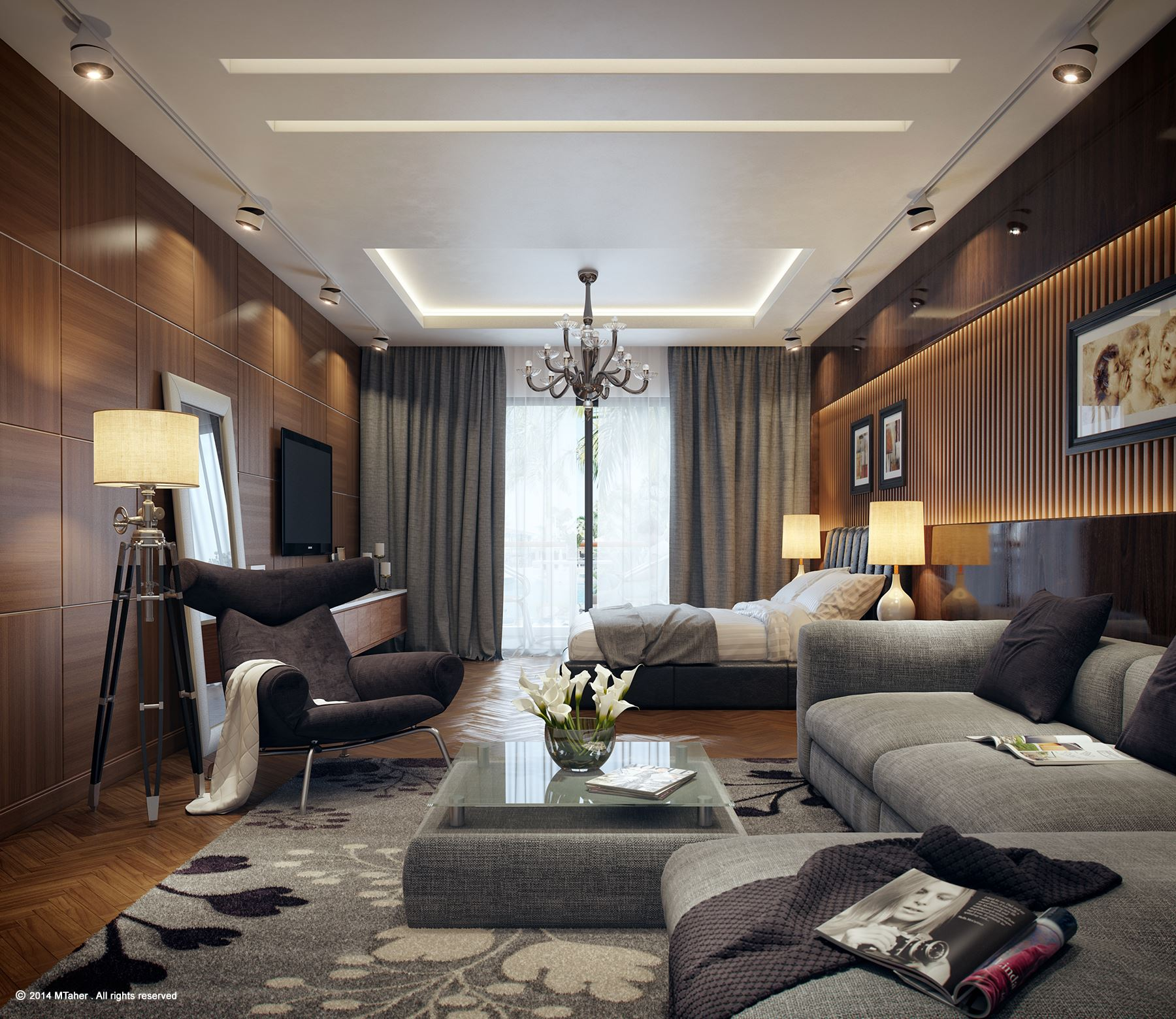 25 Newest Bedrooms That We Are In Love With on Luxury Master Bedroom  id=60137