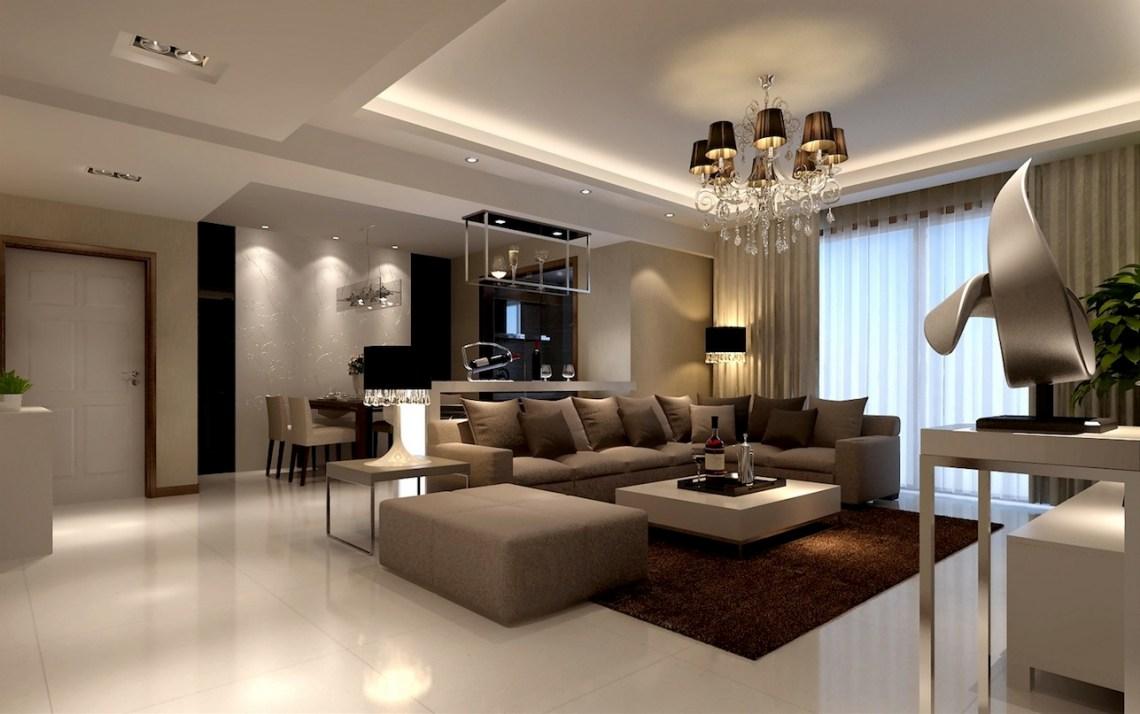 classic style beige living room | Interior Design Ideas.