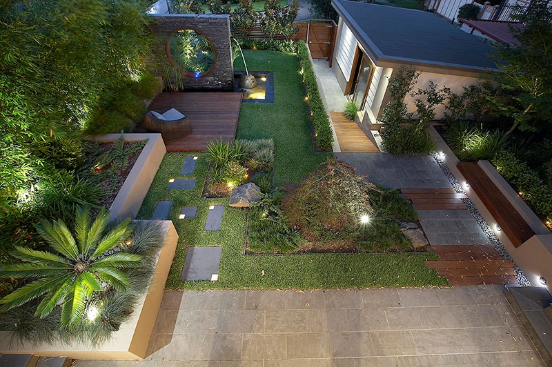Modern Landscape Design Ideas From Rollingstone Landscapes on Backyard Lawn Designs  id=21452