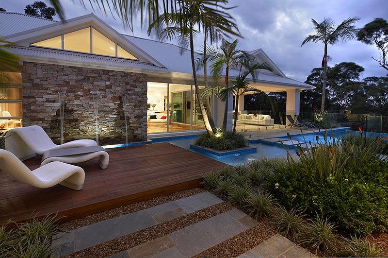 Modern Landscape Design Ideas From Rollingstone Landscapes on Modern Backyard Landscape Ideas id=34907