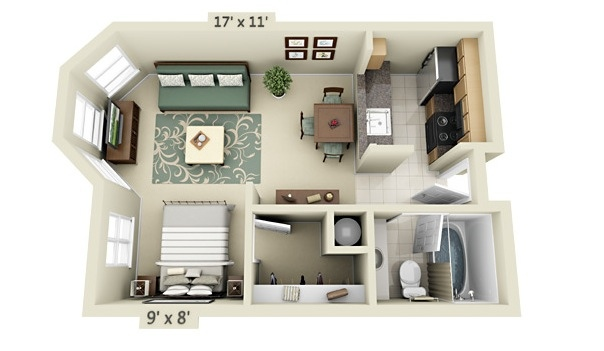 3 Bedroom Rambler Floor Plans