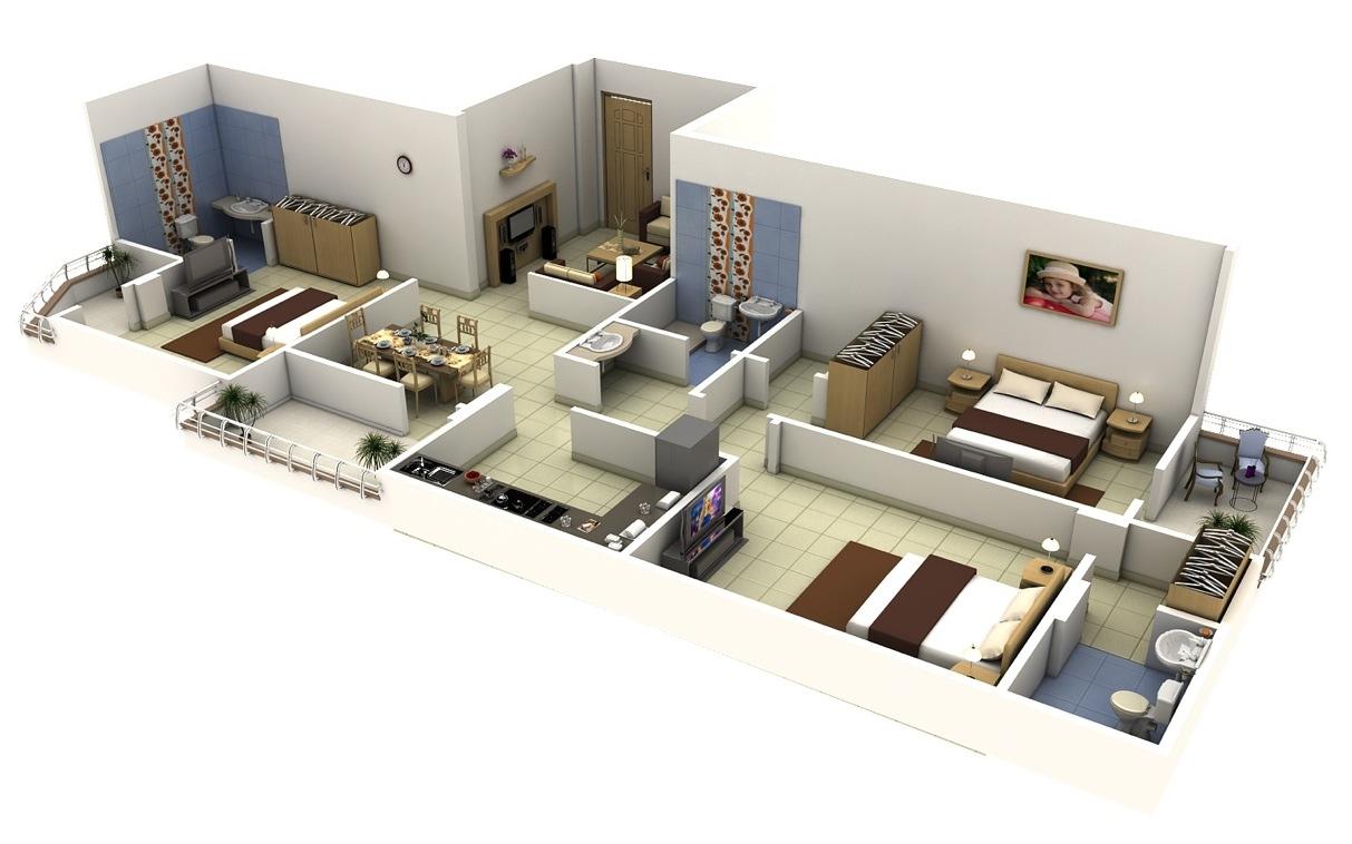 Program Bathroom Designs 3d Free