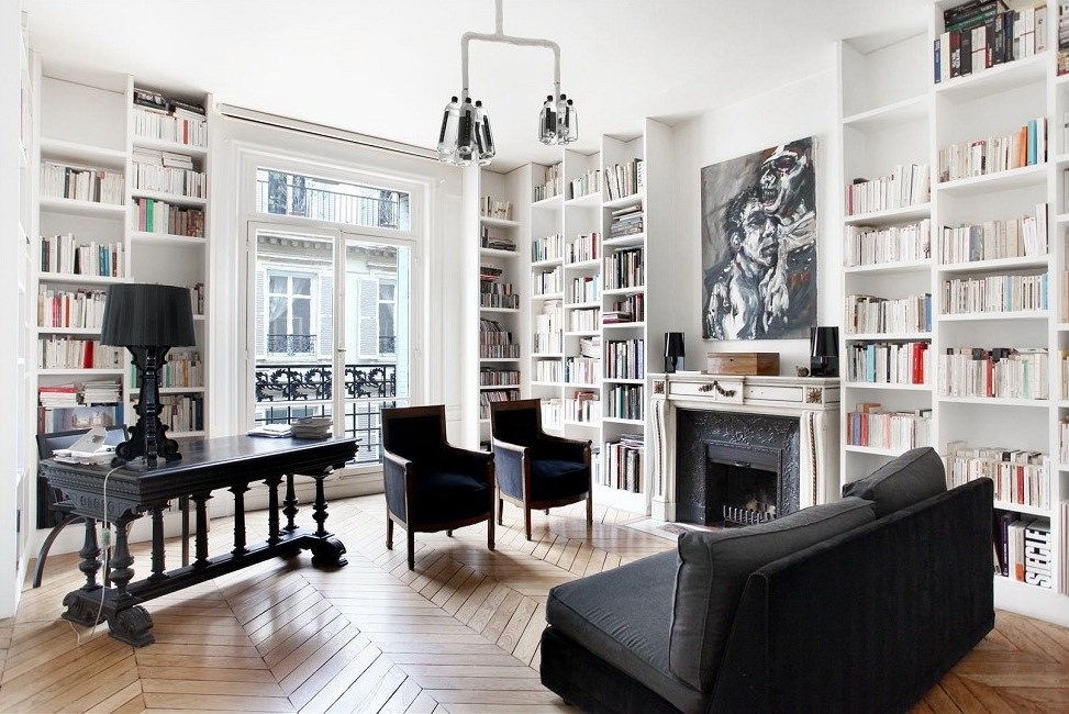 French Interior Design: The Beautiful Parisian Style on Apartment Decorating Styles  id=91952