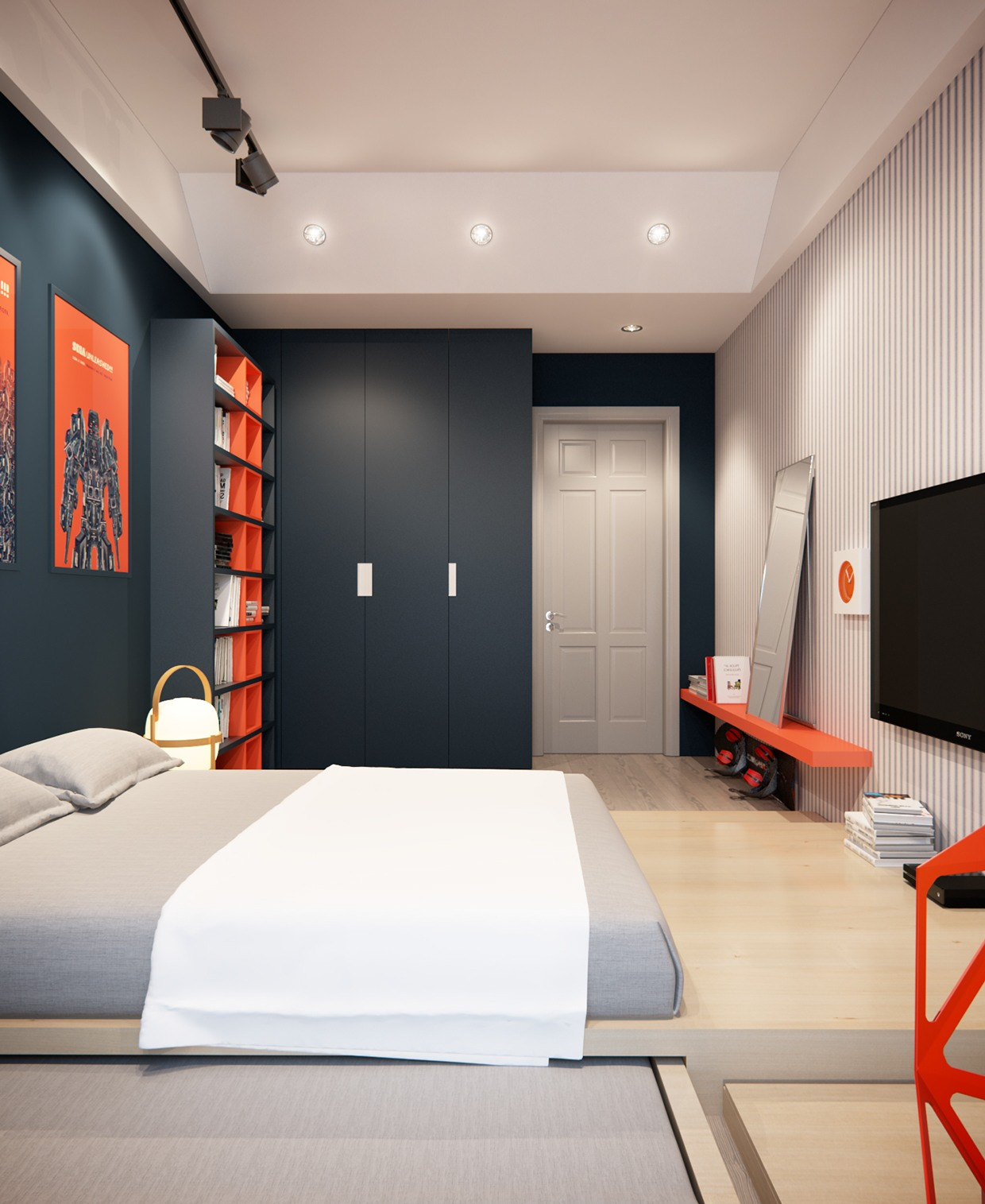 A Stylish Apartment with Classic Design Features on Room Decor  id=57625