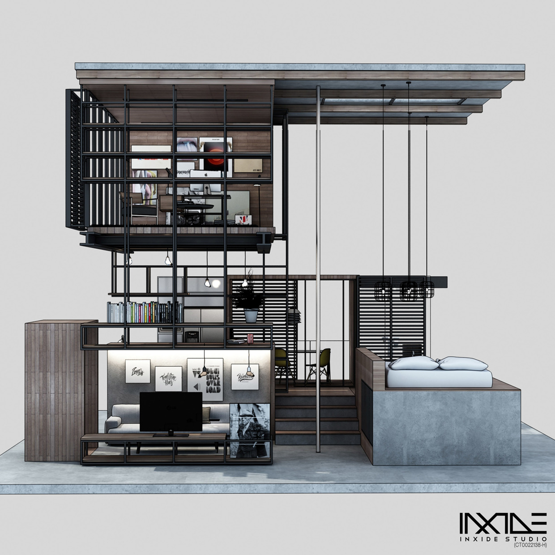 Compact House Design Interior Design Ideas