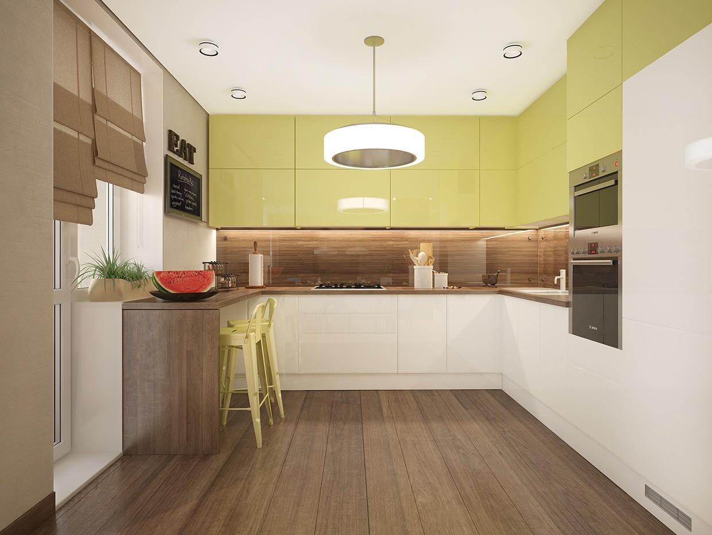 Lime Green Kitchen Walls Novocom Top