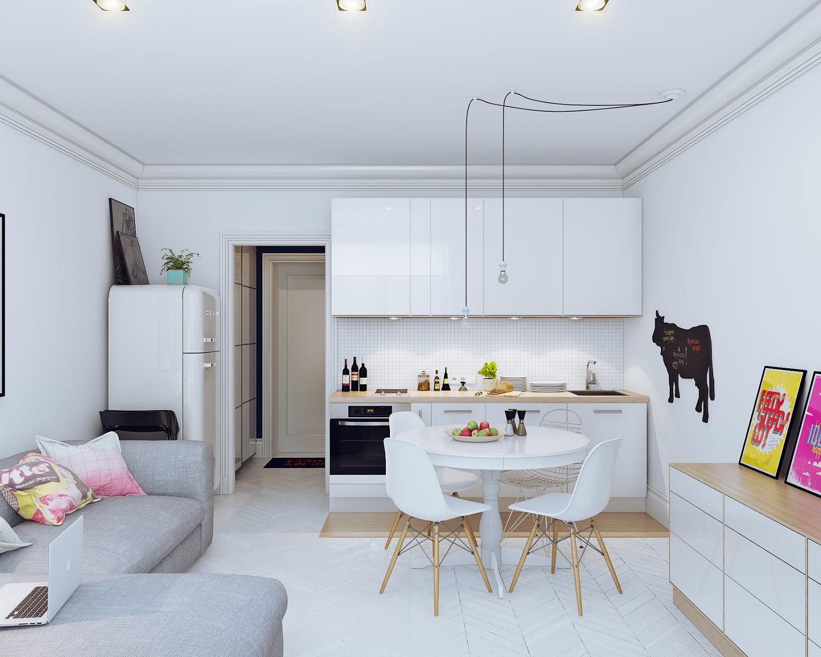 Small Open Plan Kitchen Designs