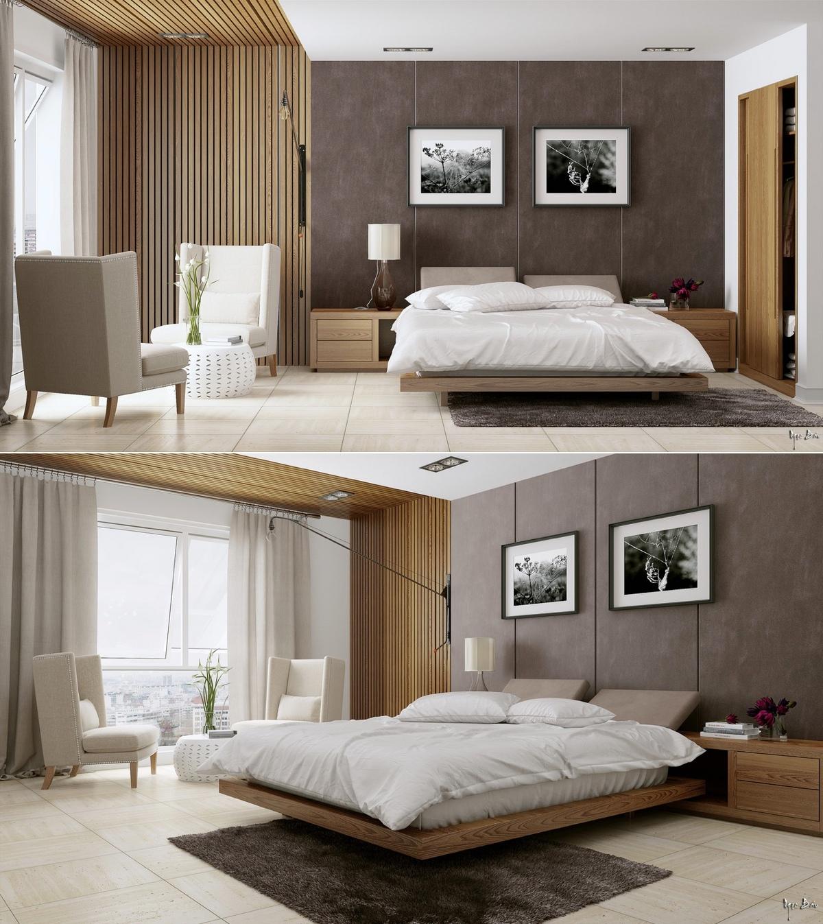 Bedroom Cupboards Brisbane Modern Romantic Bedroom Interior Purple Black And White Bedroom Korean Drama Bedroom Design: Modern Romantic Bedroom Ideas